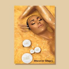 "Poster ""Discover Luxury"" - gold"